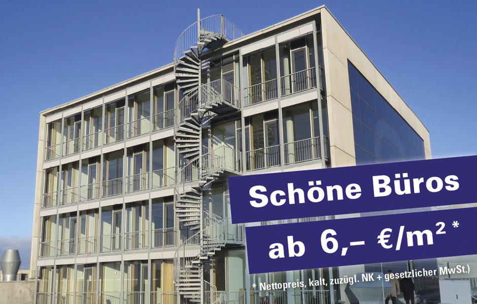 Schöne Büros schon ab 6 €/m²